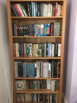 fiction bookshelf