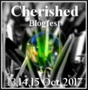 cherished blogfest badge