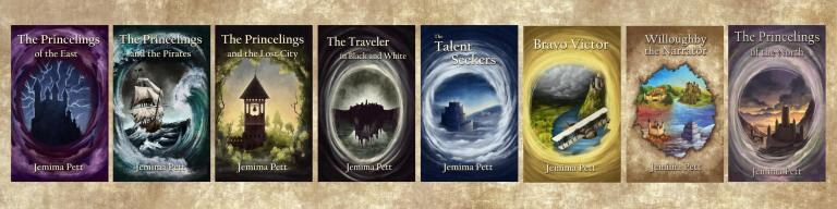 Princelings of the East series book covers