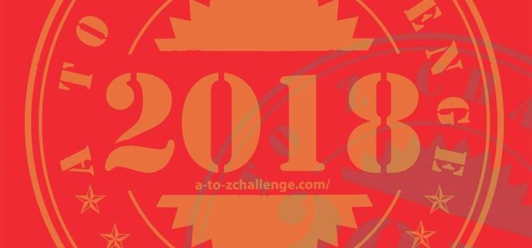 March 5th is A to Z Challenge Sign Up day