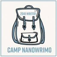 Camp Nano badge 2018