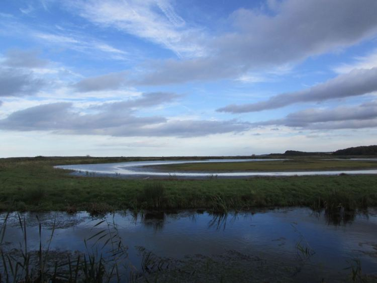 evening on the north norfolk coast