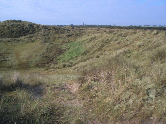 Winterton dunes and church