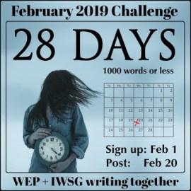 #WEP/IWSG short story challenge | 28 Days