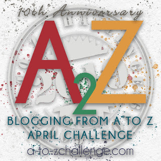a-to-z challenge 10th anniversary