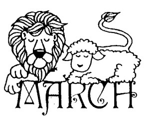 lion and lamb March