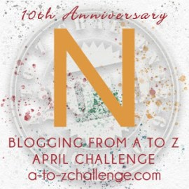 N for November for NaNoWriMo – 2014 #AtoZChallenge