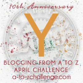 Yard or Yule? Flashback to #AtoZChallenge 2012
