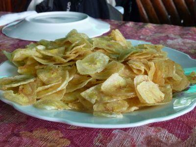 des chips banane, les premières les meilleurs