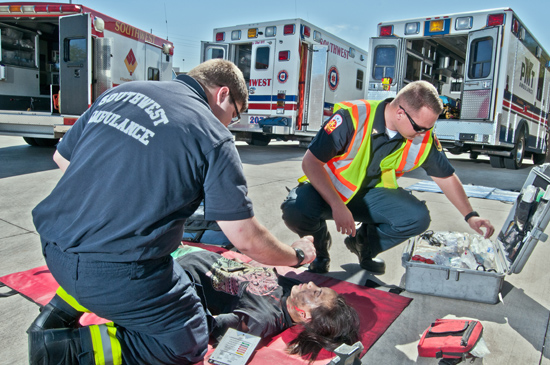 Preserving Crime Scene Evidence when Treating Patients at