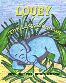 Louey_the_Lazy_Eleph_Cover_for_Kindle (2) (1)