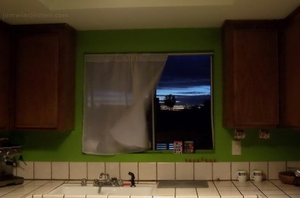 Lubicie widok ze swojego kuchennego okna?