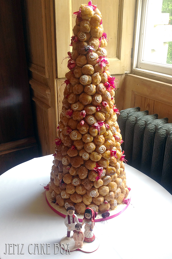 Croquembouche Jemz Cake Box
