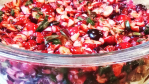 cranberry jalapeno dip is the perfect blend of sweet and spicy and makes the best holiday dip for an appetizer made with chopped cranberries, cilantro, jalapenos, lemon juice, cream cheese, green onions, and sugar