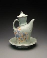 oil cruet 2009, porcelain