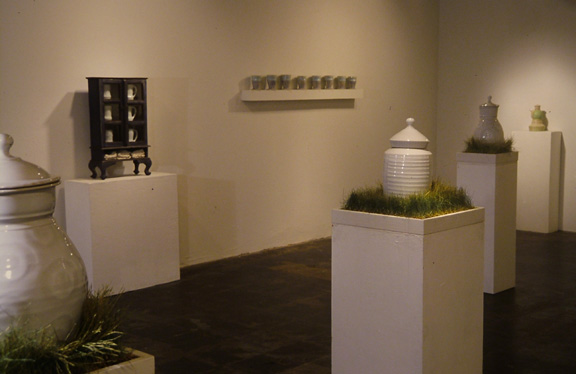 Farewell Exhibiiton, International Gallery of Contemporary Art, Anchorage, AK 2002