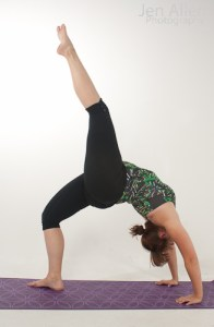 Jen Allen Yoga - This was Jen Allen during her 200 hr Yoga Teacher Training