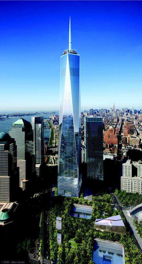 One World Trade Center, New York, USA - 1,776 ft