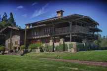 Doc's Mansion and garage - The Gamble House, 4 Westmoreland Place, Pasadena, California