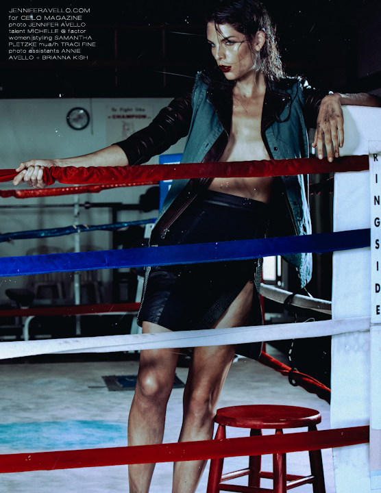 Boxing Ring Beauty