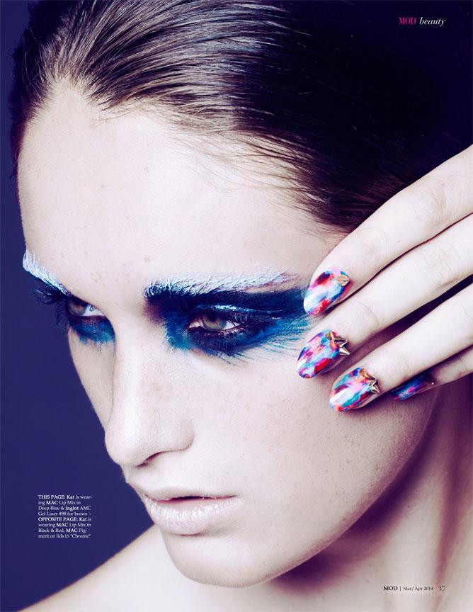 Blue Beauty Portrait