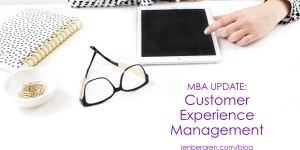 MBA customer experience management CX