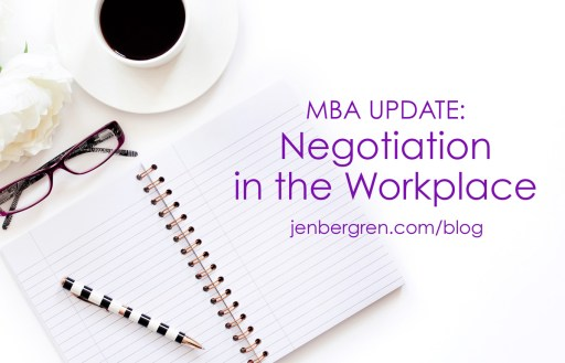 MBA negotiation