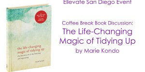 san diego book club women ellevate marie kondo
