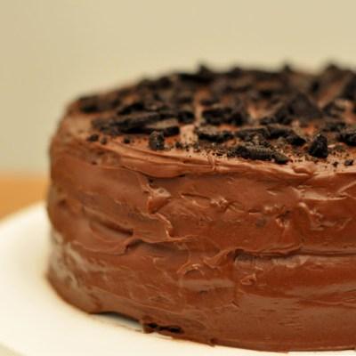 Cake #1: Chocolate Oreo