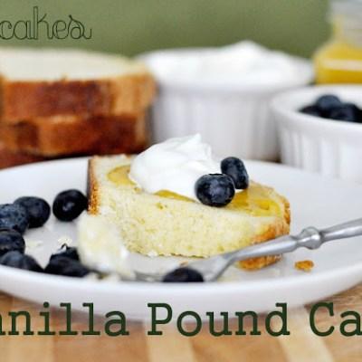Cake #4: Vanilla Pound Cake
