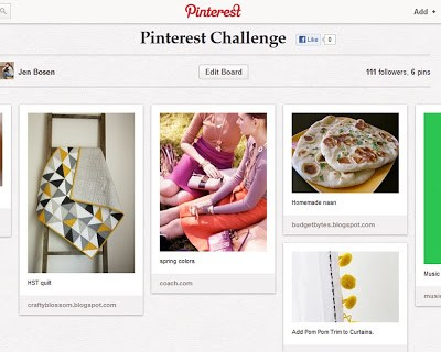 Pinterest Challenge & Pregnancy Update