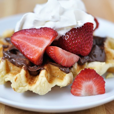 Valentine's Day Brunch: Liege Waffles