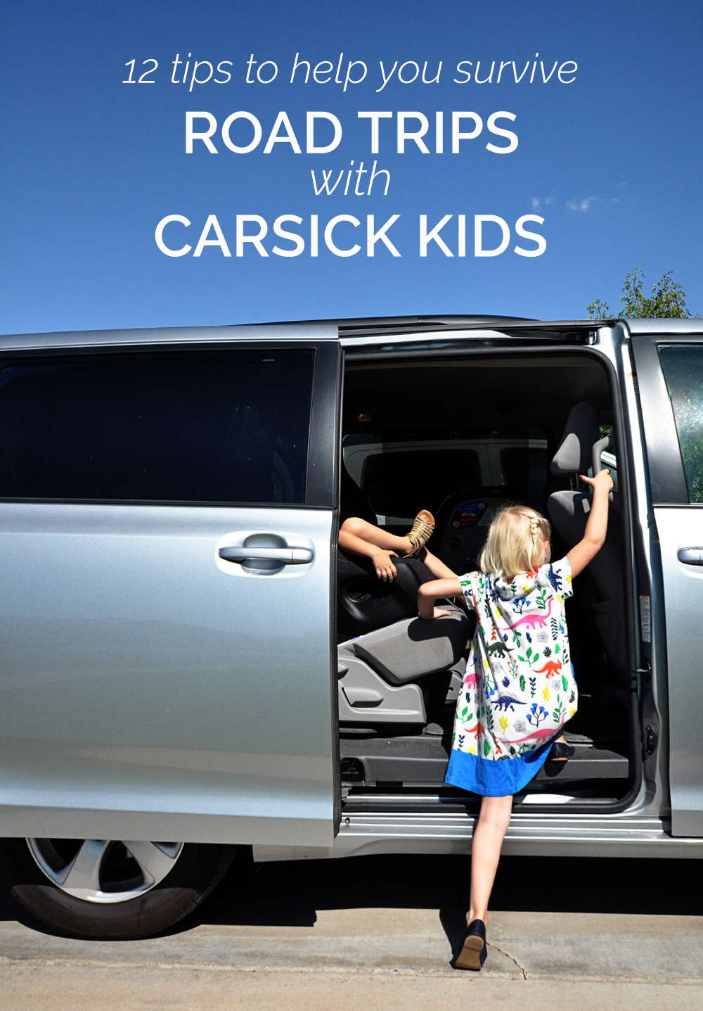 surviving road trips with carsick kids - real life, on purpose.
