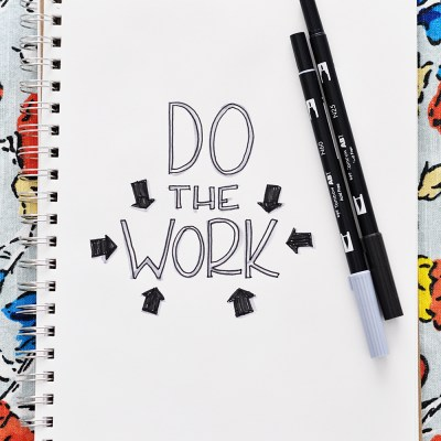 My Mantra For February: DO THE WORK