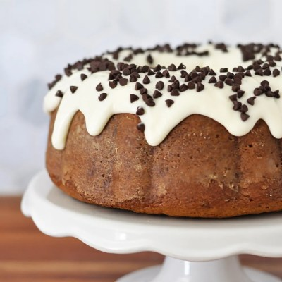 Chocolate Chip Sour Cream Bundt Cake