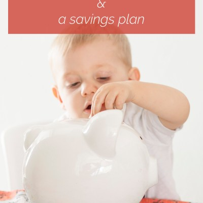Mindful About Money: A Spending Fast + A Savings Plan