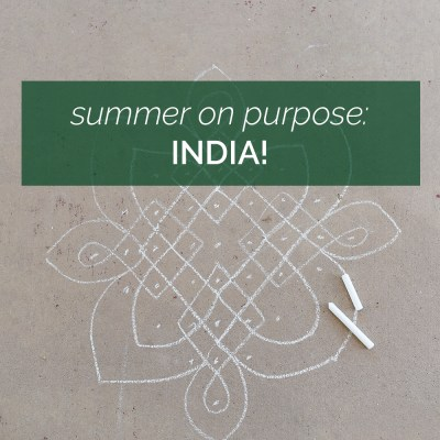 Summer On Purpose: India!