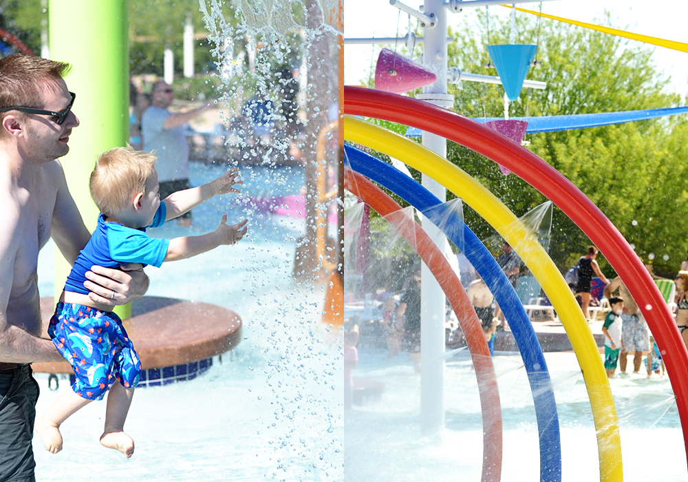 Wet 'n' Wild Phoenix has a new play area just for kids! Barefootin' Bay is part wading pool, part splash pad, and so much fun!
