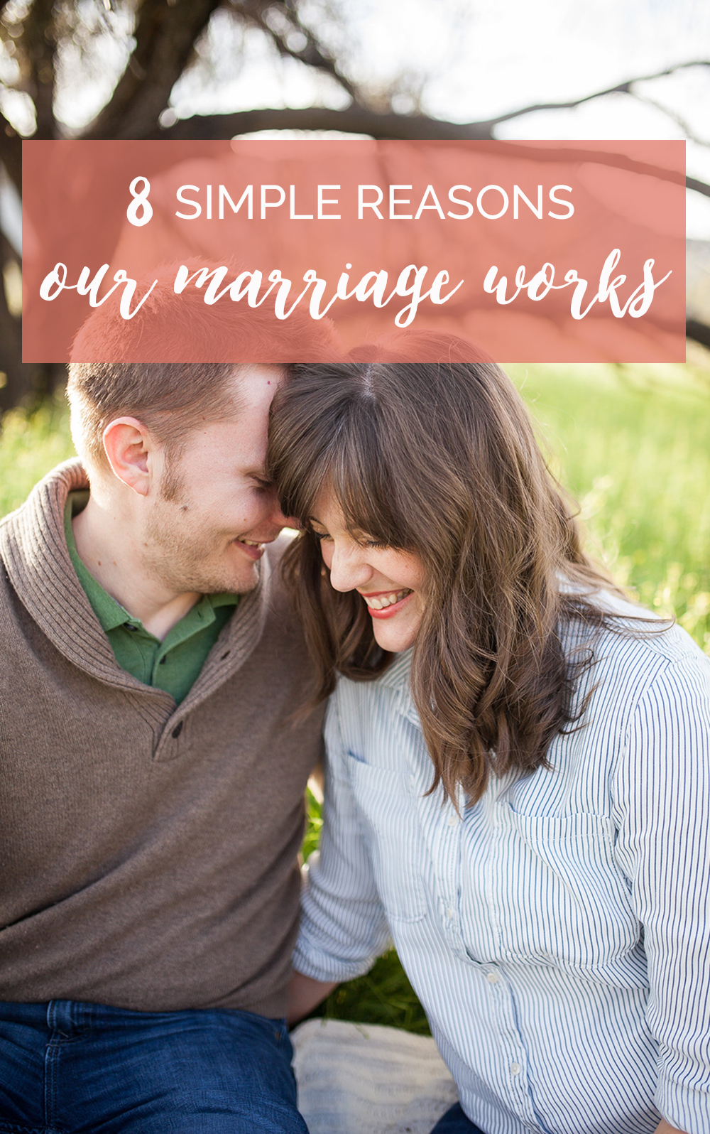 8 simple reasons our marriage works. After 10 years of marriage, we've figure out a few things that help strengthen & improve our relationship.