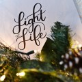 my december mantra: light and life