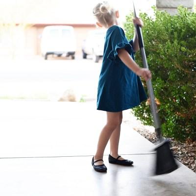 Mila Monday: Chores