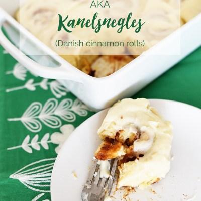 Cinnamon Snails (Kanelsnegles, aka Danish Cinnamon Rolls)