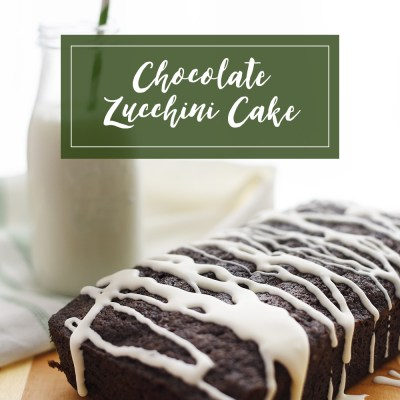 Chocolate Zucchini Cake recipe: lightly spiced and incredibly moist, this chocolate zucchini cake has been a family favorite for years