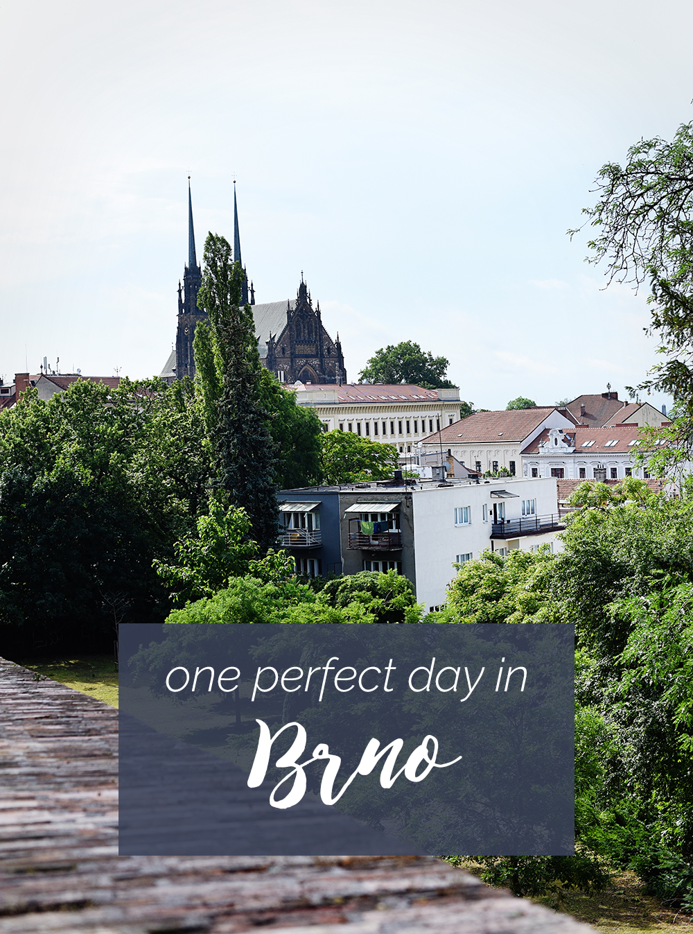 We spent one perfect day in Brno, Czech Republic, and I fell in love.