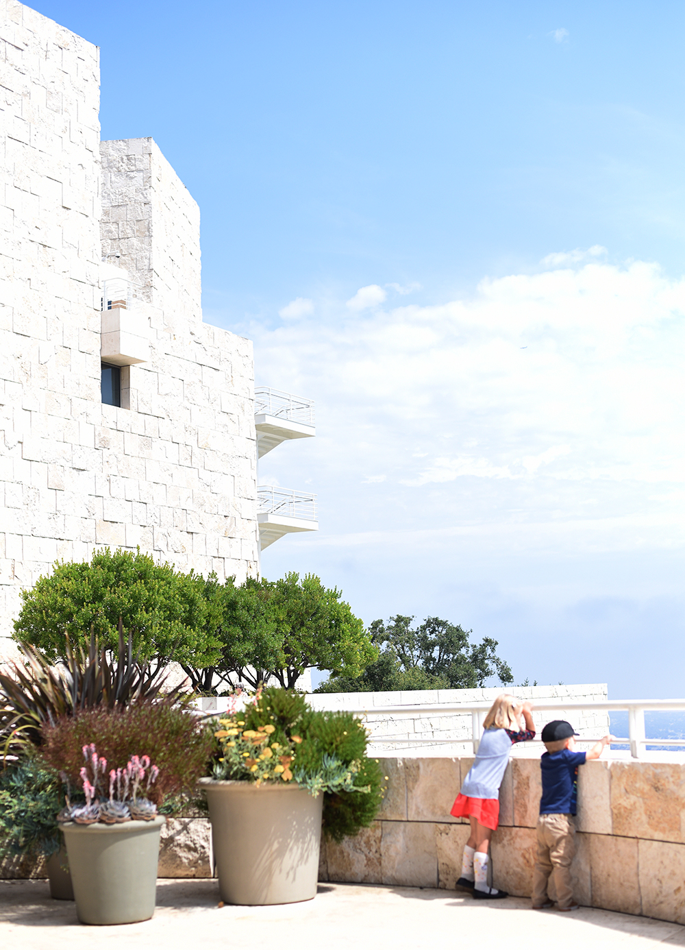 some highlights from our family trip to Los Angeles: the Getty Center