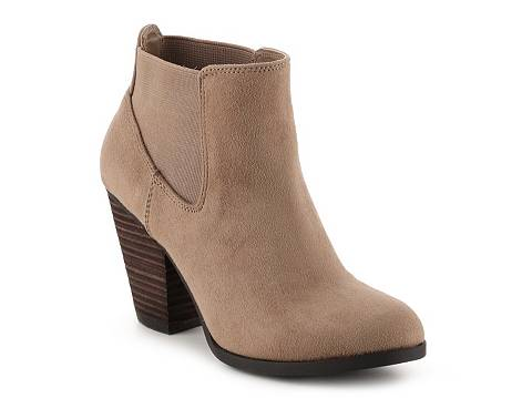Camorone bootie in Taupe by Call It Spring