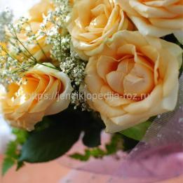 Праздничный букет роз