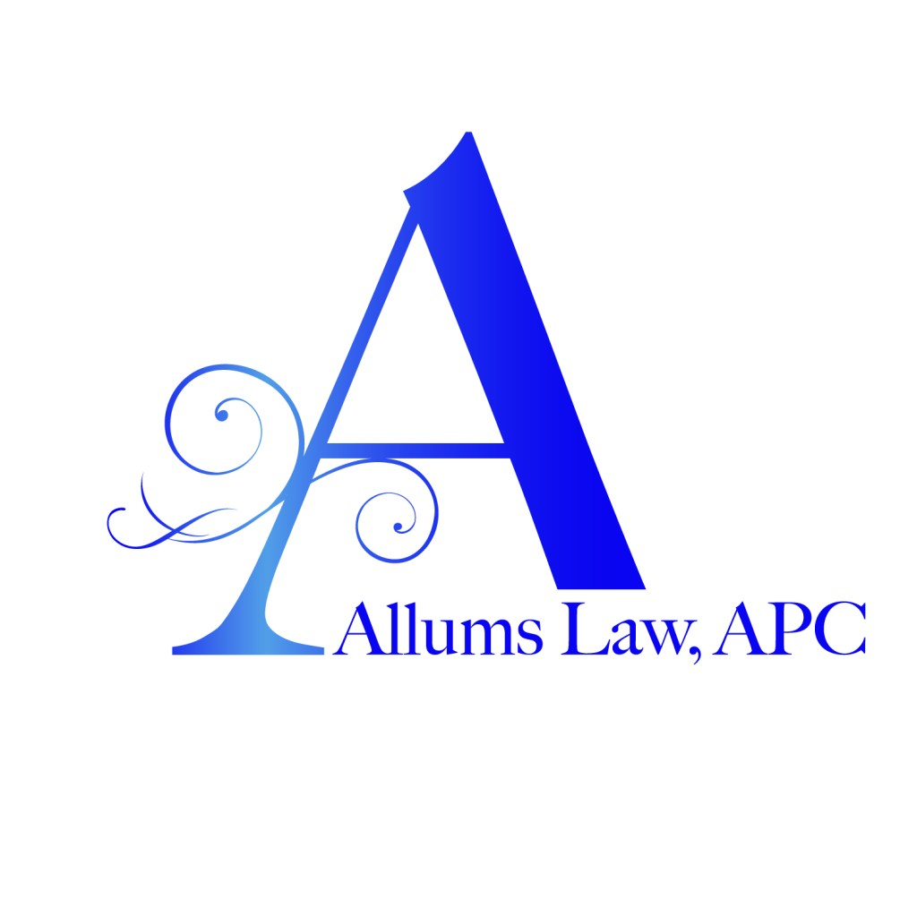 Allums Law logo mark