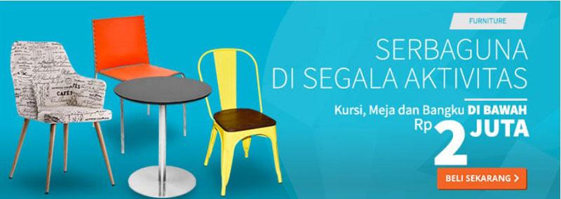 Rupa-Rupa, Furnitur Online