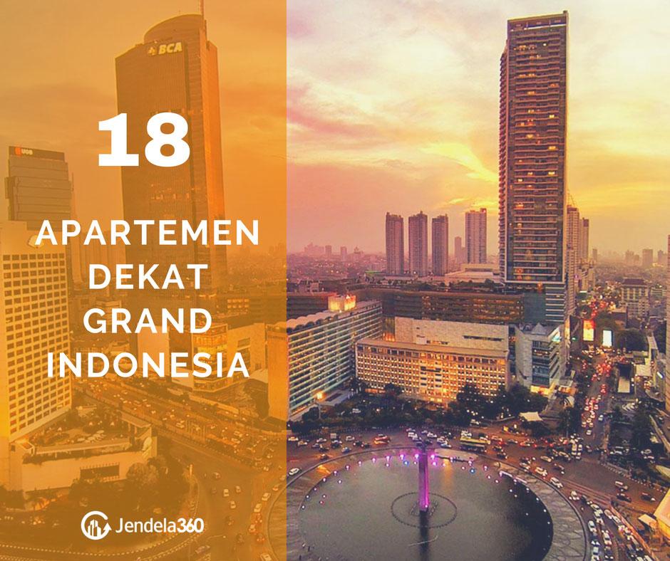 Central Park Apartments Jakarta: Daftar 18 Apartemen Dekat Grand Indonesia